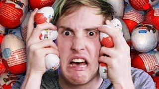 Wir testen Kinder Überraschungs-Eier | Ü-Ei Paket Test