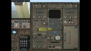 fs2004 PMDG 747-400 簡易示範