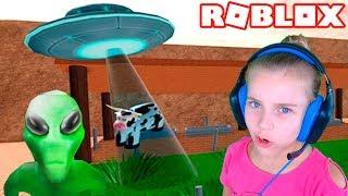 Побег из ЗОНЫ 51 в Roblox Видео для детей детская игра ЗОНА 51 ОББИ в Роблокс