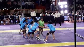 Entertaining Women Kabaddi Match Between Indian States Maharashtra Vs Kerala