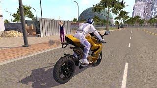 Furious City Moto Bike Racer 4, By Fun Blocky Games
