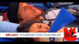 Big Brother Canada 7 | April 18 | Thursday Eviction Episode Recap LIVE 9:15e/6:15p