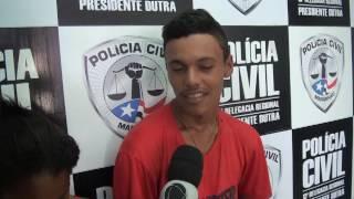 PRESO ACUSADOS DE ROUBO DE MOTOS EM TUNTUM