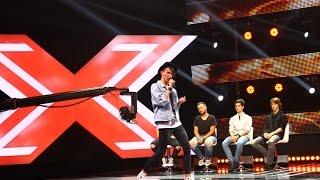 Delia - Inimi Desenate. Vezi aici cum canta Razvan Moldovan la X Factor!
