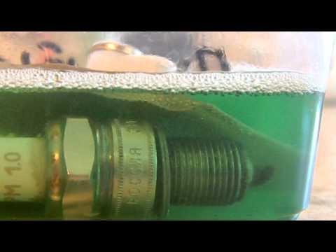 Промывка свечей химией санокс гель
