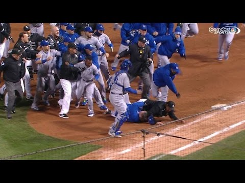 KC@CWS: Tempers flare in Chicago as benches clear