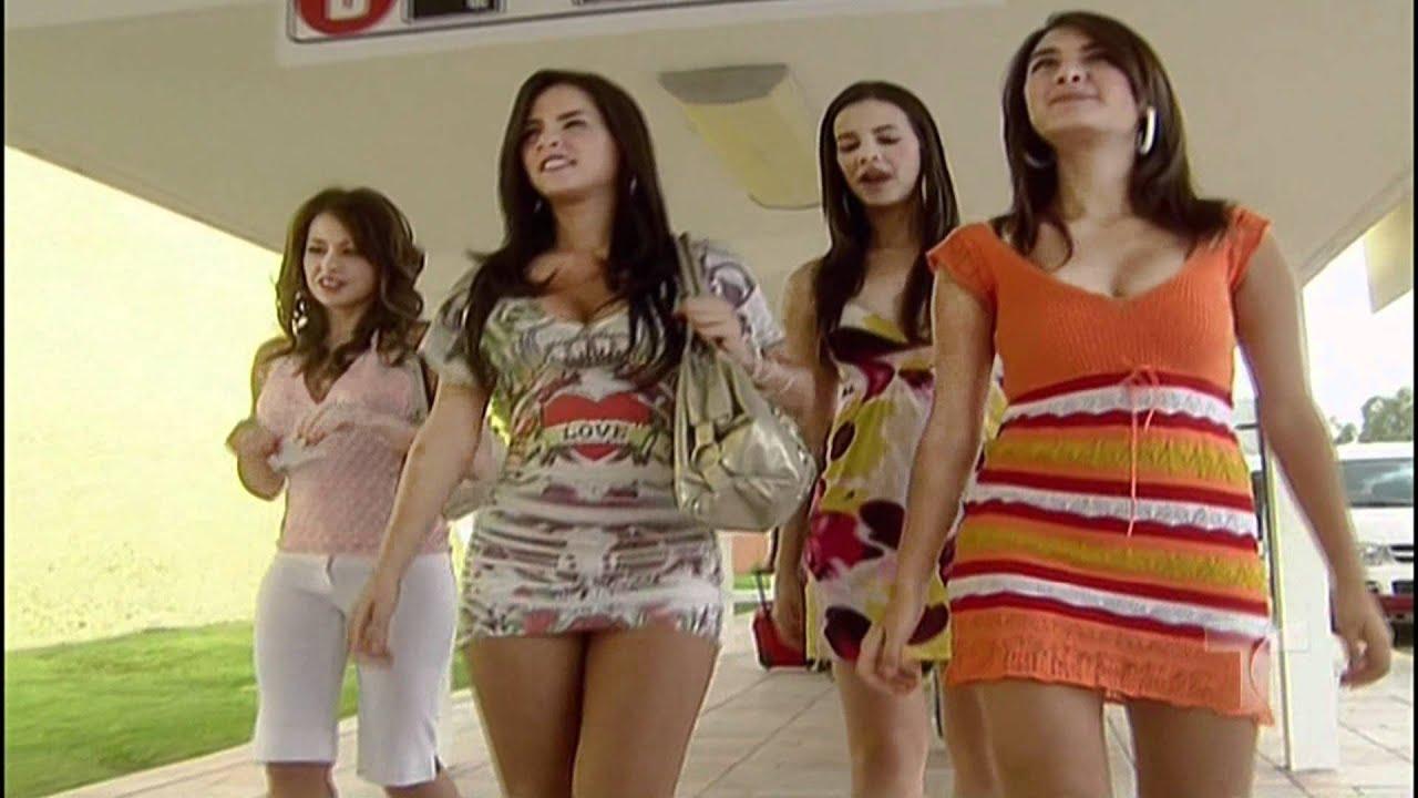 Real up skirt morena de negro - 5 2