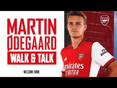 It feels like it's meant to be!  |  Martin Ødegaard |  Walk & Talk interview