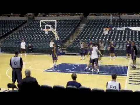 Pacers 2009-2010 Training Camp Highlights