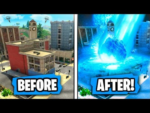 "NEW ""Tilted Towers"" is getting ""DESTROYED"" by Meteor Strike Says Epic! (RIP TILTED TOWERS!)"