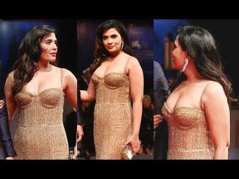 Richa Chadda Super Hot At Venice Film Festival 2017