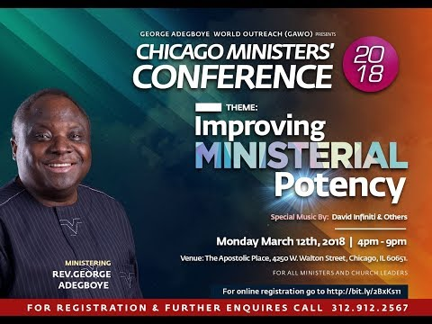 Chicago Ministers Conference 03/12/2018