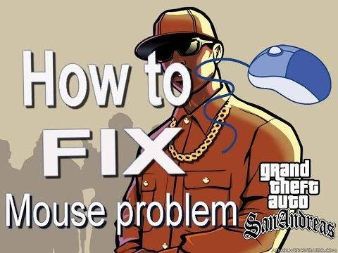 How to Fix Mouse Problem of GTA San Andreas in Windows 7,8,8.1,10  (Easy Way).