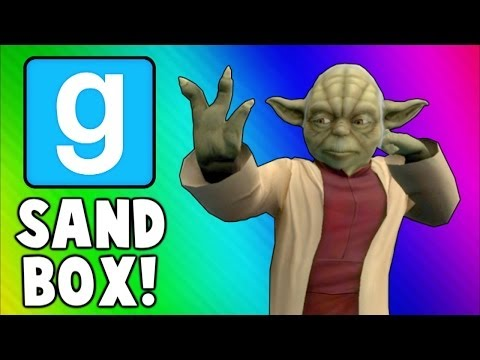 Gmod Funny Moments - Gladiators, Yoda Uses the Force, Krusty Krab! (Garry's Mod Sandbox)