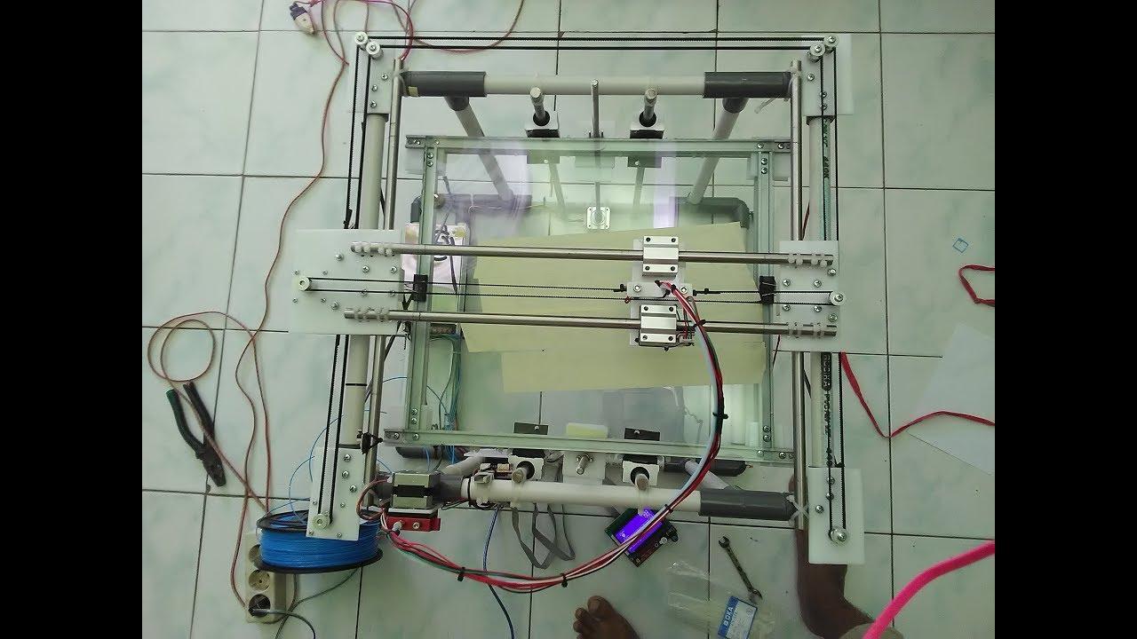 Diy Printer 3d Arduino Mega 2560 Ramps 1 4 Bagian 2 Youtube Connections Of
