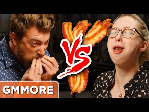 Ultimate Bacon Eating Competition