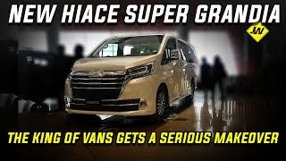 2020 Hiace Super Grandia leather  -First look, vehicle tour, review