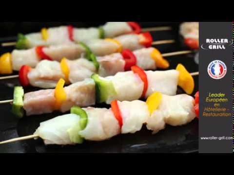 Plancha professionnelle lectrique ou gaz roller grill - Rotissoire professionnelle roller grill ...
