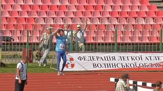Спис (чоловіки). Командний чемпіонат України-2017 з легкої атлетики