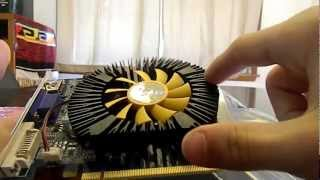 Galaxy Geforce GT 440 Unboxing