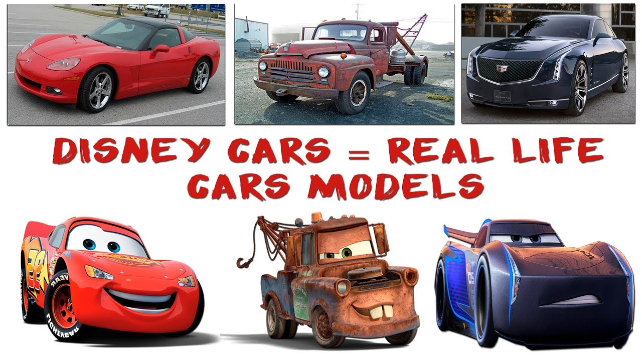 Disney Cars Real Life Car Brands Models Episode 1 10 Disney Cars Characters Car Logos Youtube