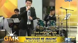 Flashback Friday: whatever We Imagine  Feat. Philip Go W/ Generic Band