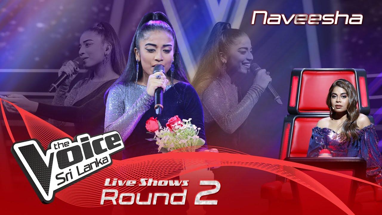 Download Naveesha | Wassanayata Atha Wanala (වස්සානයට අත වනලා) | Live Shows Rounds 02 | The Voice Sri Lanka