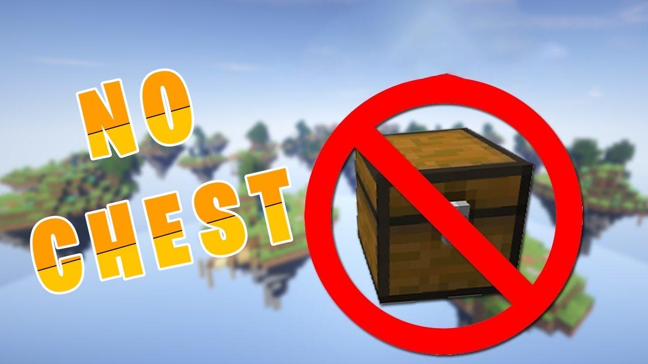 The No Chest Challenge in Minecraft! [MineCraft]