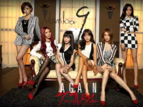 T-ara - Number 9 (넘버나인) Official Instrumental