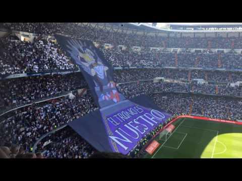 ¡Hala madrid, y nada más! Cante y tifo el Derbi madrileño 8.4.2017