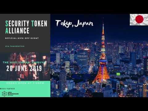 J.D. Salbego Speaks at the Security Token Alliance event - Tokyo