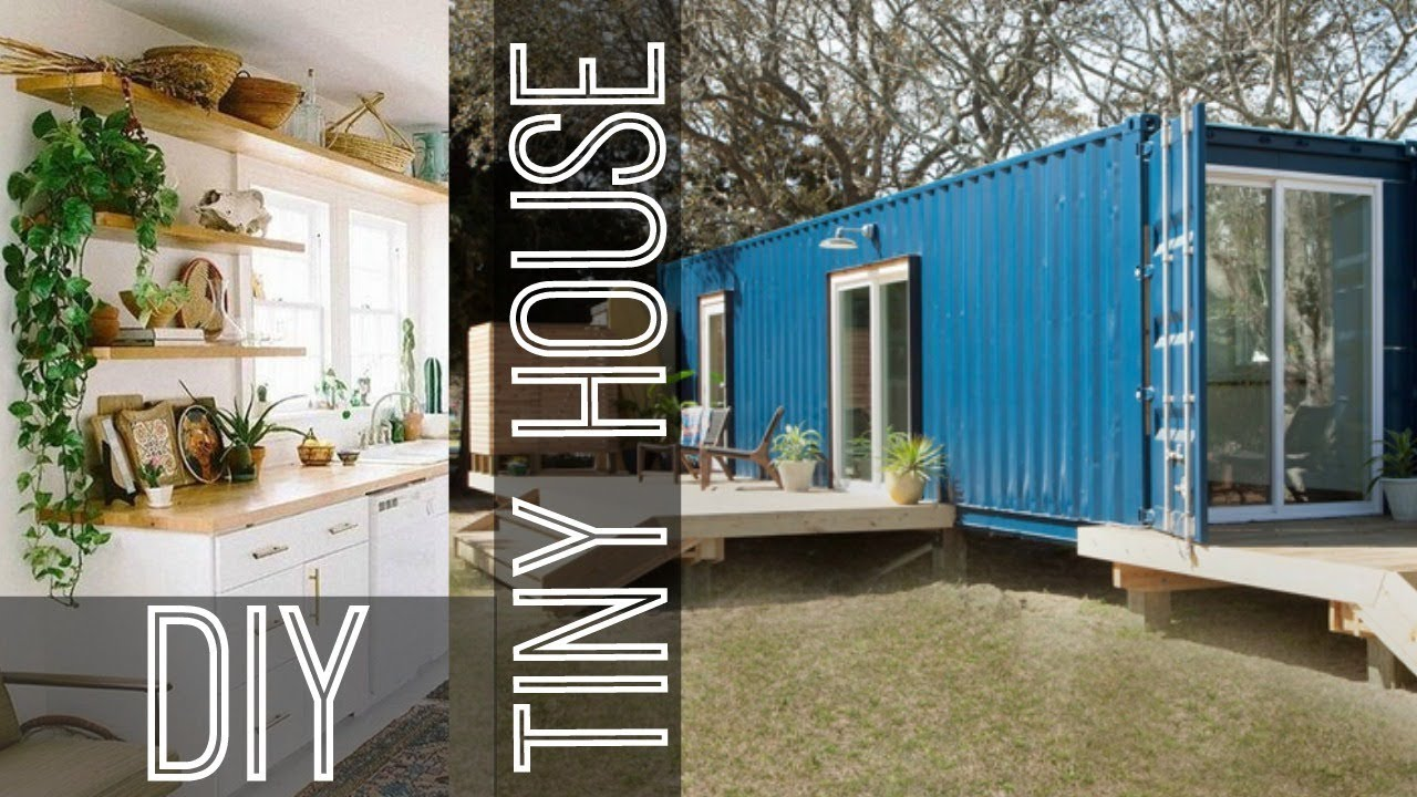DIY Dream HOME | Shipping Container Conversion (Tiny House ...