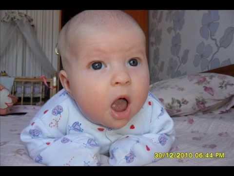 фото ребенка в три месяца.