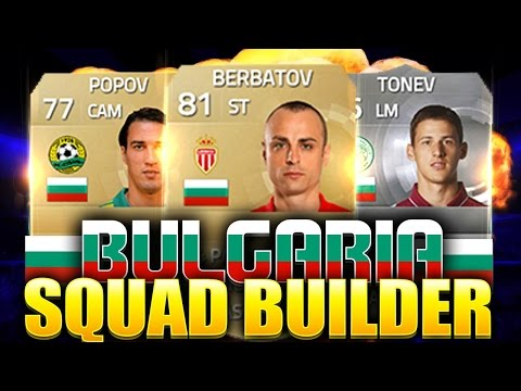 FIFA 15 ULTIMATE TEAM - BULGARIA SQUAD BUILDER FT BERBATOV