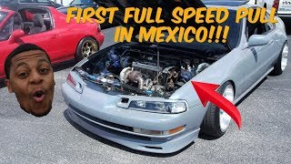 Turbo Honda Prelude | First full speed pull | smp car meet