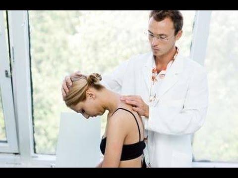 Лечение шейно грудного остеохондроза в домашних условиях - YouTube
