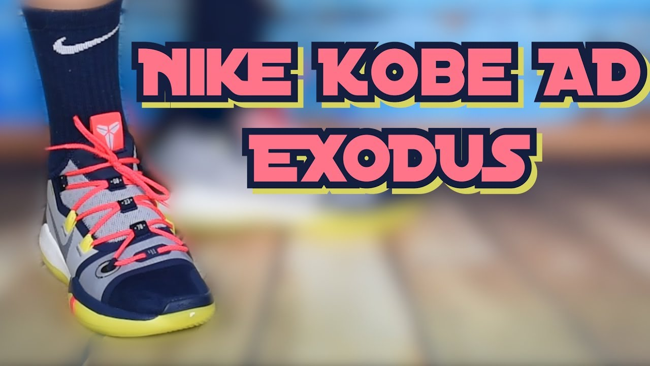 418291ed8244 Nike Kobe AD EXODUS - Erster Eindruck + on Feet - YouTube