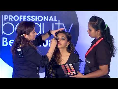 Air brush Make-up by Kangna Kochhar & Team Temptu at Professional Beauty Bengaluru