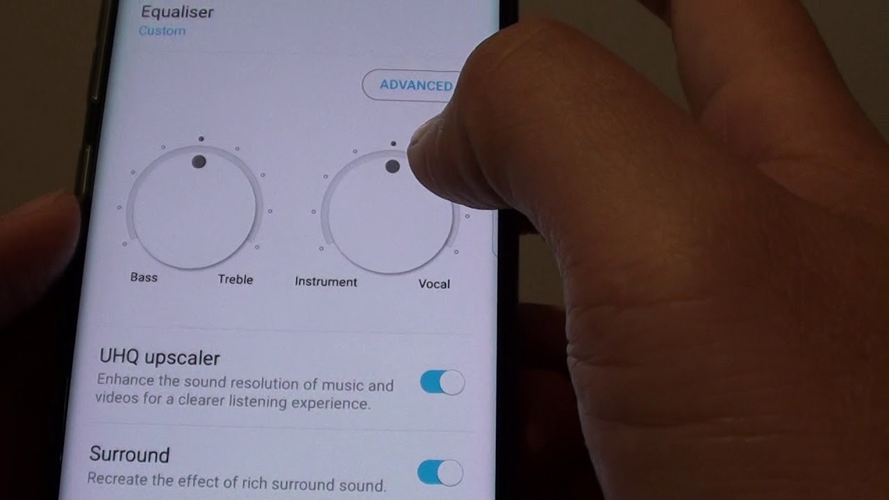 Samsung Galaxy S8: How to Manually Change Sound Equalizer