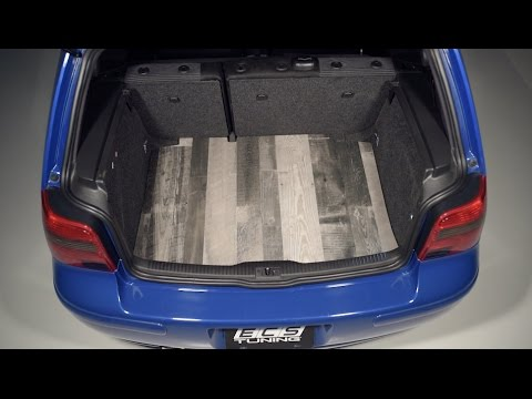 Vw Mk4 Wood Trunk Floor Ecs Tuning Youtube