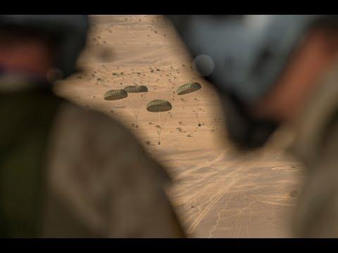 Belgen droppen water in Mali