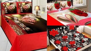 Most beautiful classic bed sheets designs for home use and bridal jahej