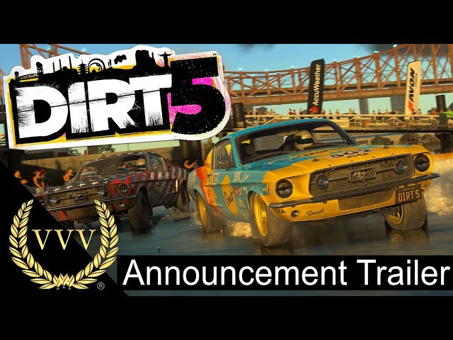 Dirt 5 Announcement Trailer