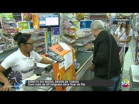 Ministério Público lança campanha em favor dos idosos | SBT Brasil (02/17/17)