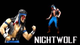Nightwolf review ( personajes de mkII )