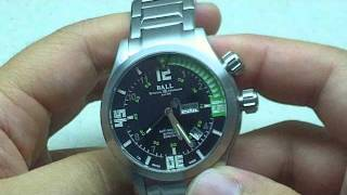Ball Engineer Master Diver II Automatic Watch Video Review