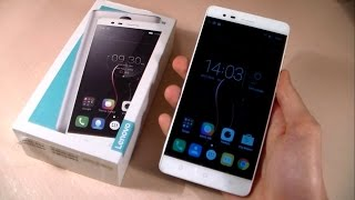 Lenovo Vibe K5 Note  Unboxing  (Grey, 32 GB)  (With 3 GB RAM)