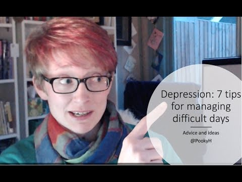 Depression   7 tips for managing difficult days with @PookyH