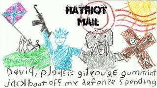 Hatriot Mail: Lisping Homosexual Puke Jew Boy