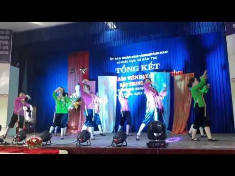 Múa Sóng lụa - Trường MN Sơn Ca tại Hội thi GV Dạy giỏi tỉnh Quảng Nam 2017